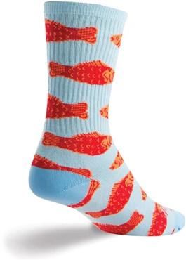 SockGuy Go Fish Womens Socks