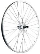M Part 700C x 19mm Alloy QR Axle For Multi Freewheel 135mm Silver Rear Wheel