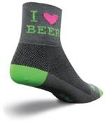 SockGuy Heart Beer Socks