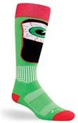 SockGuy MTN-Tech Ski Bloodshot Socks