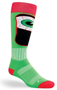 SockGuy MTN-Tech Ski Bloodshot Socks | Socks