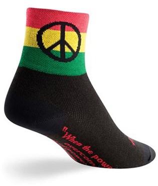 """SockGuy Classic 3"""" Peace 3 Socks"""