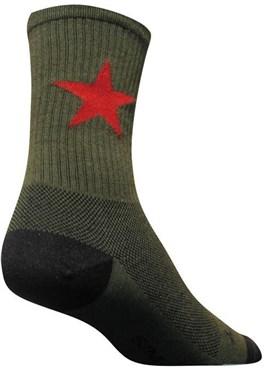 SockGuy Red Star Socks
