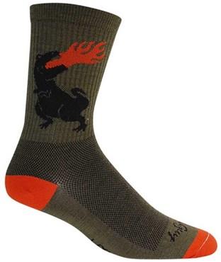 SockGuy Dinosaur Socks | Strømper