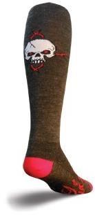 """SockGuy 12"""" Wool Red Eye Knee High Socks"""