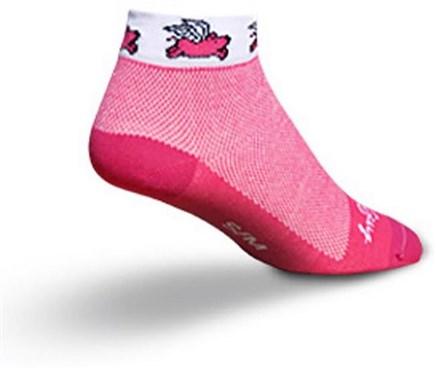 SockGuy Flying Pig Womens Socks