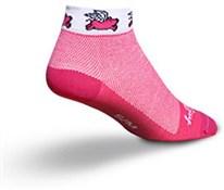 SockGuy Low Cut Flying Pig Womens Socks