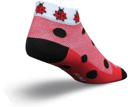 SockGuy Lady Bug Womens Socks