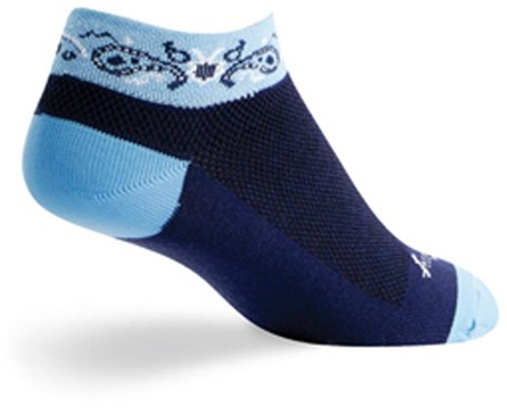 SockGuy Paisley Socks | Strømper
