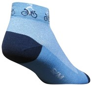 SockGuy Ponytail Womens Socks