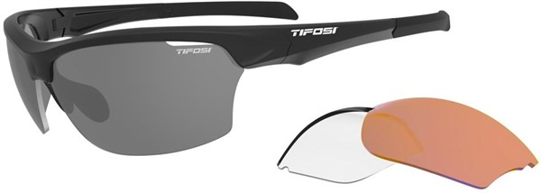 Tifosi Intense Interchangable Lens Sunglasses White