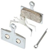Shimano G04S Disc Brake Pads - Steel Backed Metal Sintered