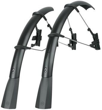 SKS Raceblade Pro Stealth Series Clip-on Road Bike Mudguard Set