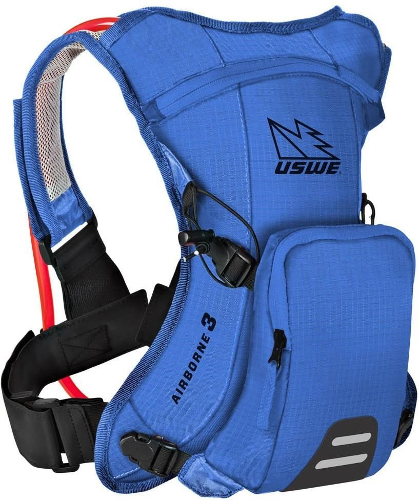 USWE Airborne 3 Junior Hydration Pack 1L Cargo With 2.0L Shape-Shift Bladder | Hydration system spares
