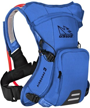 USWE Airborne 3 Junior Hydration Pack 1L Cargo With 2.0L Shape-Shift Bladder