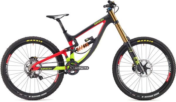 "Saracen Myst Team 27.5"" Mountain Bike 2017 - Downhill Full Suspension MTB"