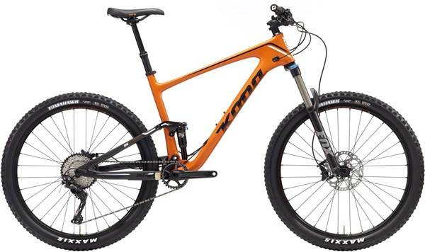 Kona Hei Hei Trail Carbon 27.5 Mountain Bike 2017 - Trail Full Suspension MTB