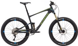 Product image for Kona Hei Hei Trail Deluxe Carbon 27.5 Mountain Bike 2017 - Trail Full Suspension MTB
