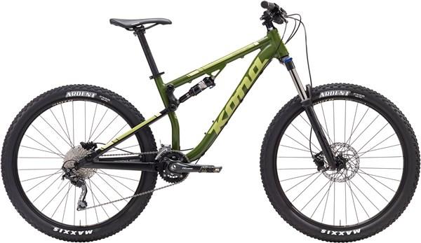 "Kona Precept 130 27.5"" Mountain Bike 2017 - Trail Full Suspension MTB"