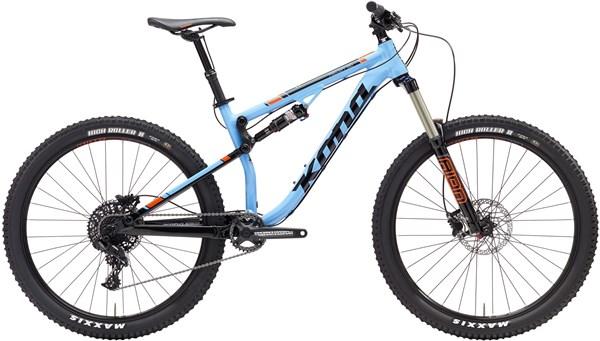 Kona Precept 150 27.5 Mountain Bike 2017 - Trail Full Suspension MTB
