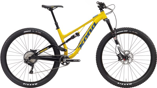 Kona Process 111 29er Mountain Bike 2017 - Trail Full Suspension MTB