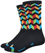"Product image for Defeet Aireator Hi-Top 6"" Jitterbug Socks"