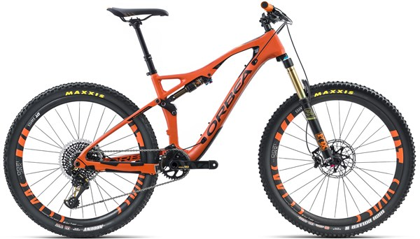 "Orbea Occam AM M-LTD 27.5"" Mountain Bike 2017 - Full Suspension MTB"