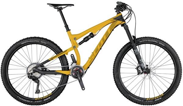 Scott Genius 730 27.5 Mountain Bike 2017 - Trail Full Suspension MTB
