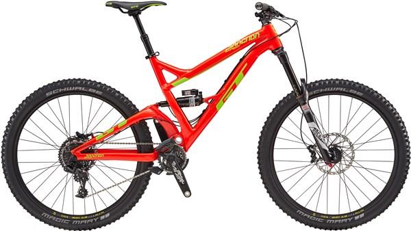 "GT Sanction Expert 27.5"" Mountain Bike 2017 - Enduro Full Suspension MTB"
