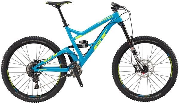 "GT Sanction Pro 27.5"" Mountain Bike 2017 - Enduro Full Suspension MTB"