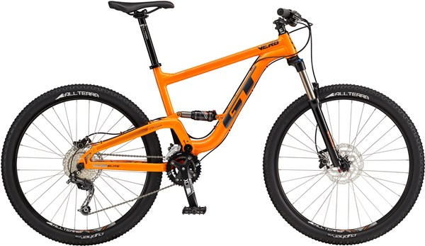 GT Verb Elite Mountain Bike 2017 - Trail Full Suspension MTB