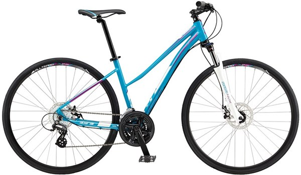 GT Transeo 4.0 Step Thru Womens 2017 - Hybrid Sports Bike
