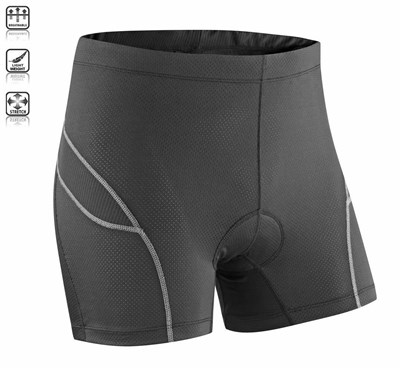 Tenn Ladies Deluxe Padded Boxer Shorts Cycling Undershorts