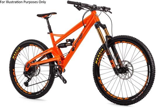 "Orange Alpine 6 Factory 27.5"" Mountain Bike 2017 -  Enduro Full Suspension MTB"