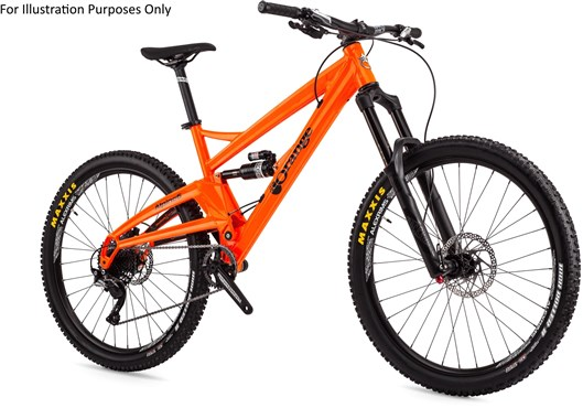 "Orange Alpine 6 S 27.5"" Mountain Bike 2017 - Enduro Full Suspension MTB"