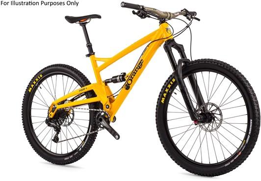 "Orange Four RS 27.5"" Mountain Bike 2017 - Trail Full Suspension MTB"