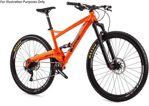 Orange Segment S 29er Mountain Bike 2017 - Trail Full Suspension MTB