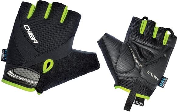 Chiba Air Plus MTB Line Mitts Short Finger Gloves SS16