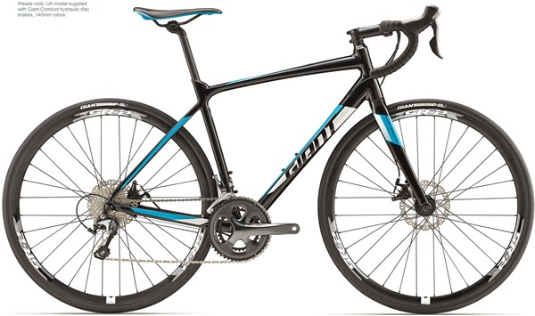 Giant Contend SL 2 Disc 2017 - Road Bike