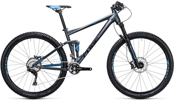 "Cube Stereo 120 HPA Race 27.5""  Mountain Bike 2017 - Trail Full Suspension MTB"