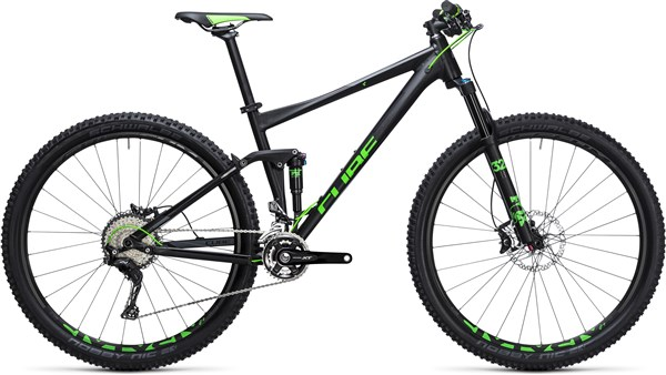 "Cube Stereo 120 HPA SL 27.5""  Mountain Bike 2017 - Trail Full Suspension MTB"