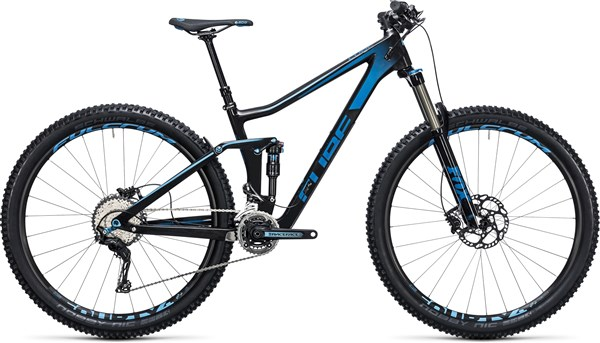 Cube Stereo 140 C:62 Race 29er  Mountain Bike 2017 - Trail Full Suspension MTB