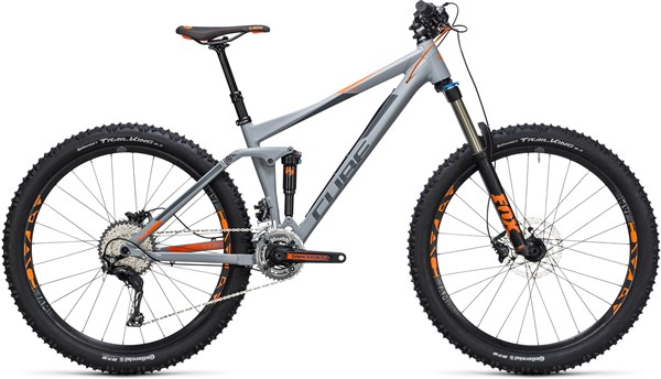 "Cube Stereo 140 HPA Pro 27.5""  Mountain Bike 2017 - Trail Full Suspension MTB"