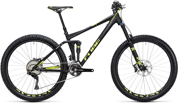 "Cube Stereo 140 HPA Race 27.5""  Mountain Bike 2017 - Trail Full Suspension MTB"