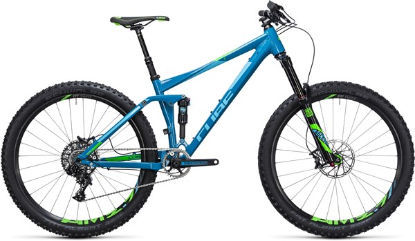 "Cube Stereo 140 HPA SL 27.5""  Mountain Bike 2017 - Trail Full Suspension MTB"
