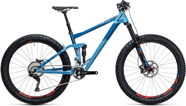 "Cube Stereo 150 HPA SL 27.5""+ Mountain Bike 2017 - Trail Full Suspension MTB"