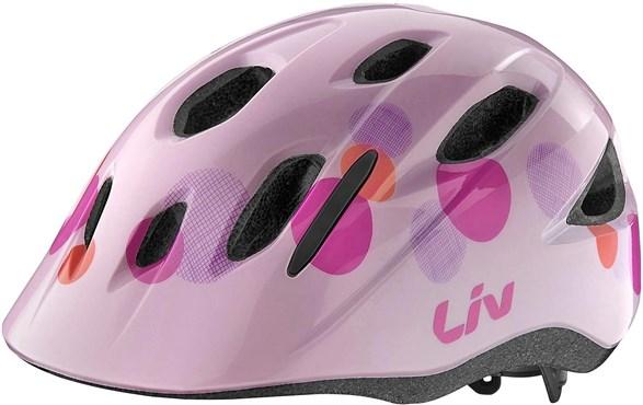 Liv Girls Youth Musa Cycling Helmet - Age 5-10 years 2017