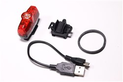 Cateye Rapid Mini USB Rechargeable Rear Light - 25 Lumen