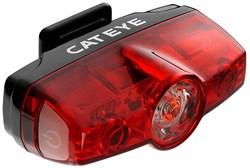 Cateye Rapid Mini USB Rechargeable Rear Light - 25 Lumen