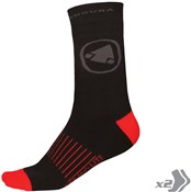 Endura Thermolite II Socks - Twin Pack